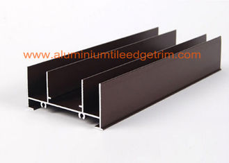 Curtain Wall Aluminum Extrusion Profiles , Extruded Aluminum Sections Different Surface Treatment
